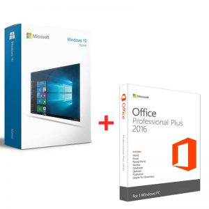 windows 10 home key & office 2016 pro plus key